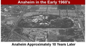 Anaheim in the 1960's