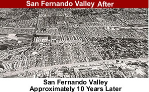 San Fernando Valley After Development